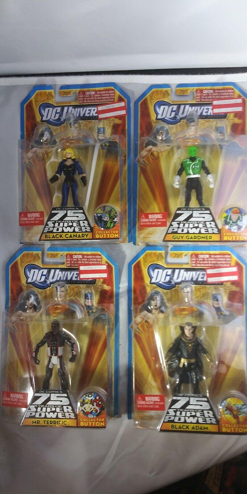 DC universo de 75 años de poder súper-juego de 4 Figuras De Acción