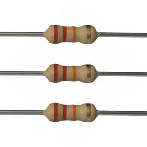 10-x-22k-Ohm-Carbon-Film-Resistors-1-4-Watt-5-22K-Fast-USA-Shipping