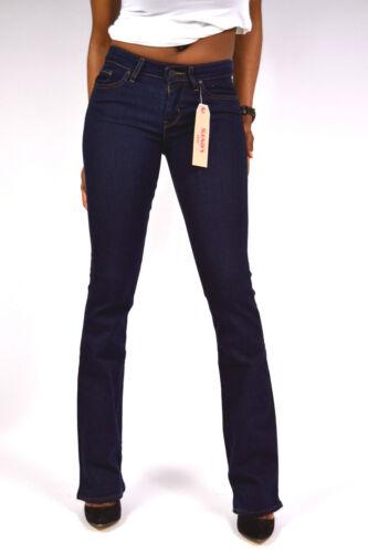 Levis® Nuovo formato Bootcut solitario scuro 28 715 34 32 Lupo Jeans o Blu 26 Rwg6Rq
