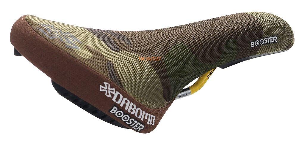 NIB DA BOMB BOOSTER MTB BMX Dirt Jumper Saddle -  Camo