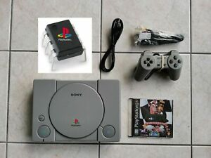 Console-Sony-PlayStation-1-Complete-Avec-Puce