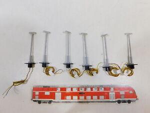 CB483-0-5-6x-Viessmann-H0-Lampe-Leuchte-Laterne-70-mm-geprueft-NEUW