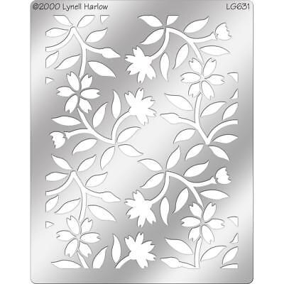 Floral Background Stampendous Dreamweaver Stencil