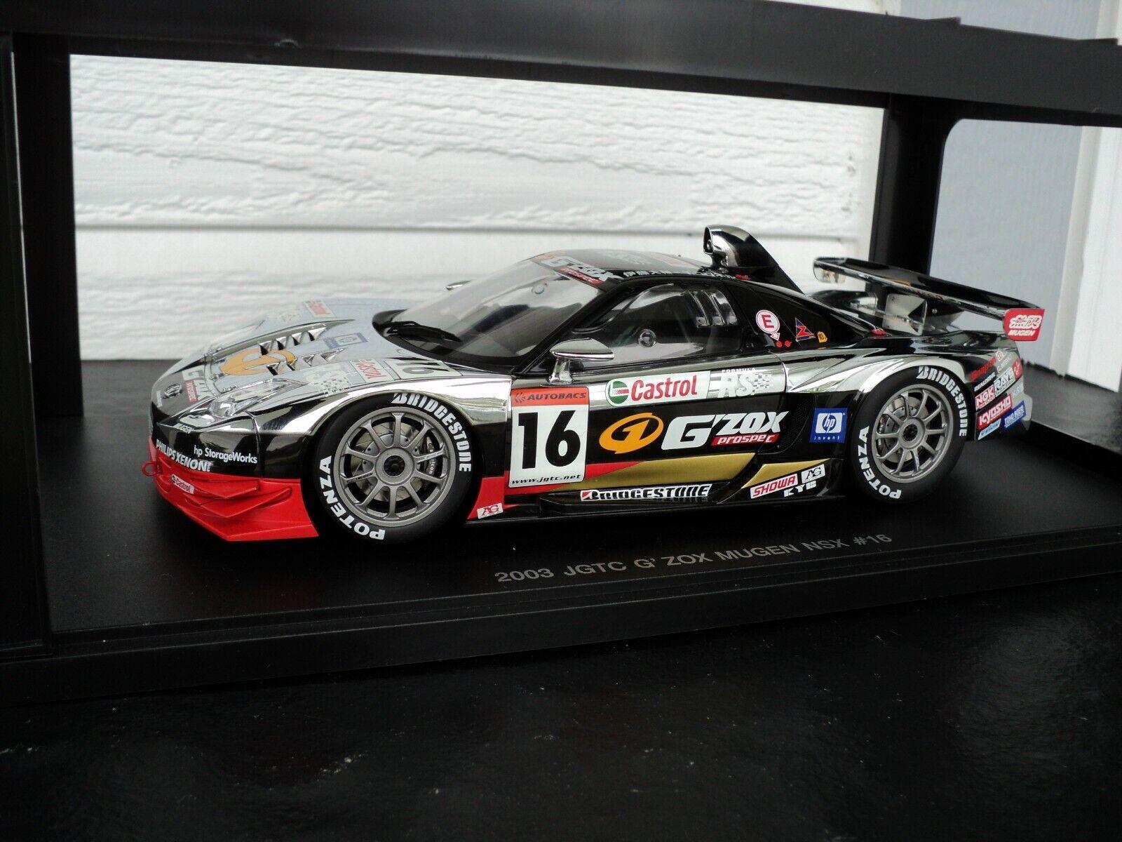 1 18 Autoart Honda Mugen NSX g'zox JGTC 2003 ultra rare