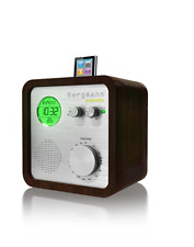 ★ Bergmann Pop Cube iPod Dock Speakers Audio Radio FM AM Alarm Clock Temperature