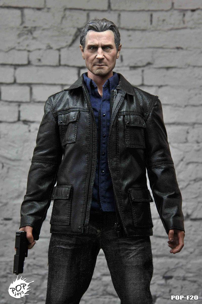 POPTOYS F20 Taken Liam Neeson Bryan Mills Rescuer Set 1/6 Scale