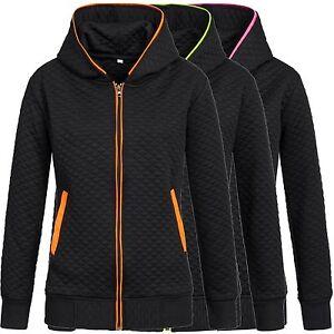 DONG-Damen-Sweatjacke-Jacke-Hoodie-Sweatshirt-16879-Gr-S-XL