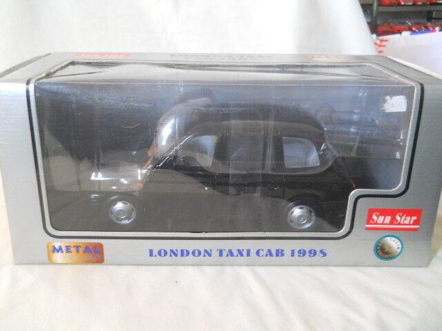Sun Star 1998 London Taxi Taxi Taxi Cab 1 18 Diecast 552dd6