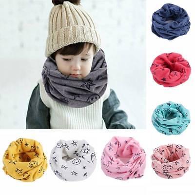 Children Warm Cotton Scarf Baby Scarf Winter Neckerchief Kids Shawl Scarves Baby