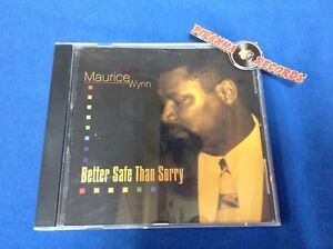 Maurice-Wynn-Better-Safe-Than-Sorry-USED-CD-SUSIE-Q-Soul-R-amp-B-Piranha-Records