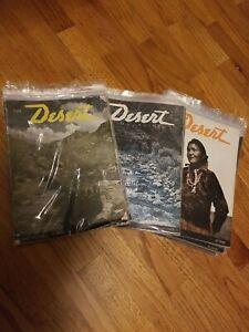 1946-1949 vintage western Desert Magazines (off road, nature, history)