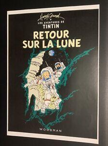 Les-aventures-de-Tintin-poster-pour-pastiche-Retour-sur-la-Lune-Harry-Edwood