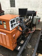2003 Generac Natural Gas 59 Kw Standby Generator Low Hours