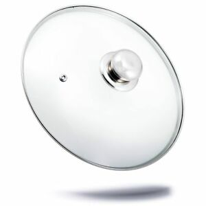 Topfdeckel-Glasdeckel-Ersatz-Topf-Glas-Deckel-Edelstahlgriff-Ersatzdeckel-28