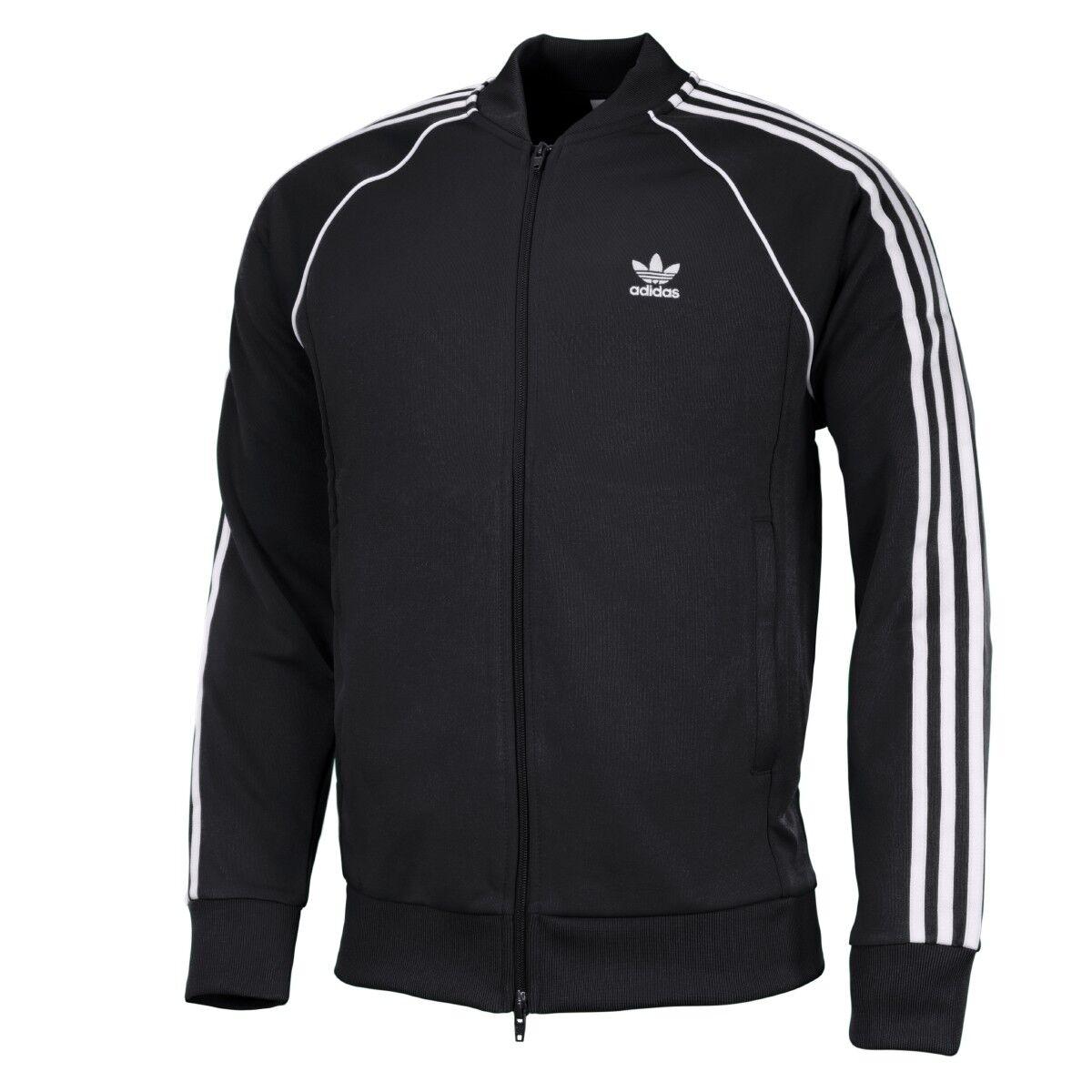 Adidas SST tracktop Originals chaqueta sport ocio Training chaqueta negro cw1256