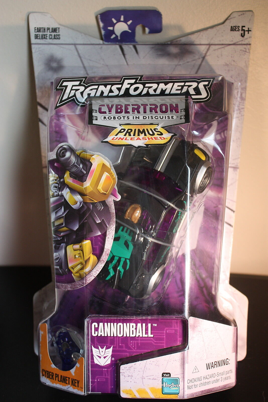 2005 Hasbro Transformers Cybertron Primus Unleashed Sealed