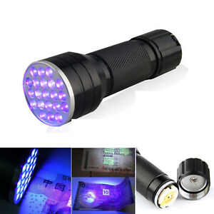 ultra violet blacklight flashlight torch for csi inspection light lamp. Black Bedroom Furniture Sets. Home Design Ideas