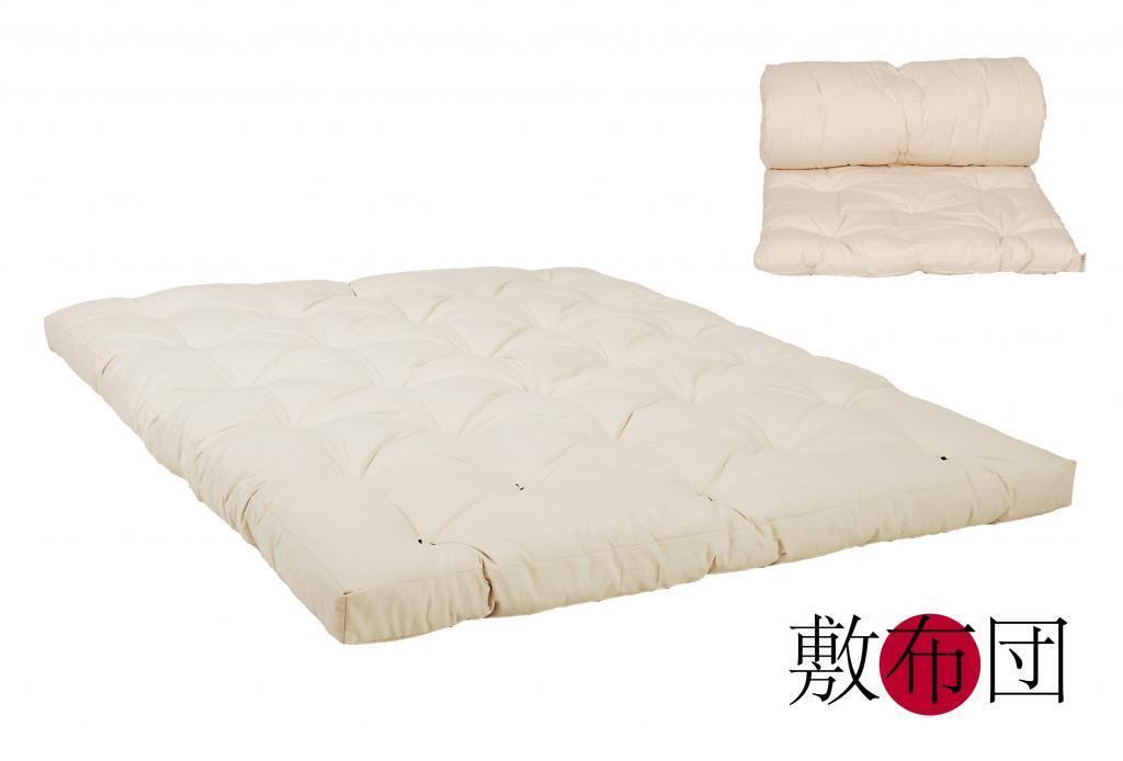 Original Japan Futon 160x200 natur aus 100% Baumwolle | Gemäßigten Kosten