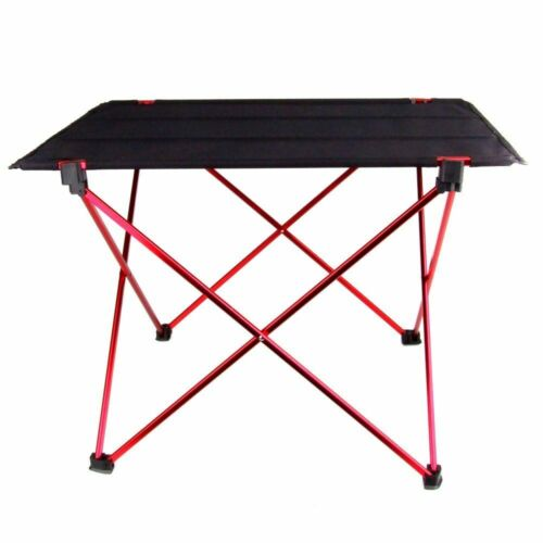Portable Table Desk Folding Picnic Camping Outdoor Foldable Aluminum Chairs Bbq