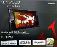 Kenwood Ddx393 6.2 Touchscreen Dvd/am/fm Car Audio Receiver, Bluetooth