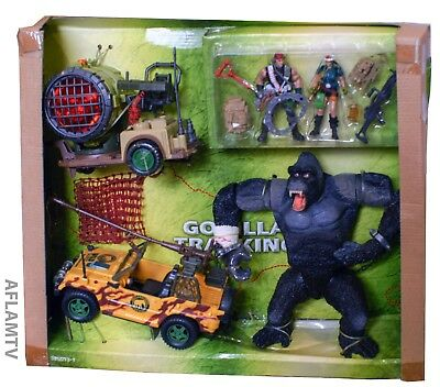 Chap Mei Giant Gorilla Airborne Rescue Playset Action Figure King Ape Kong Rare