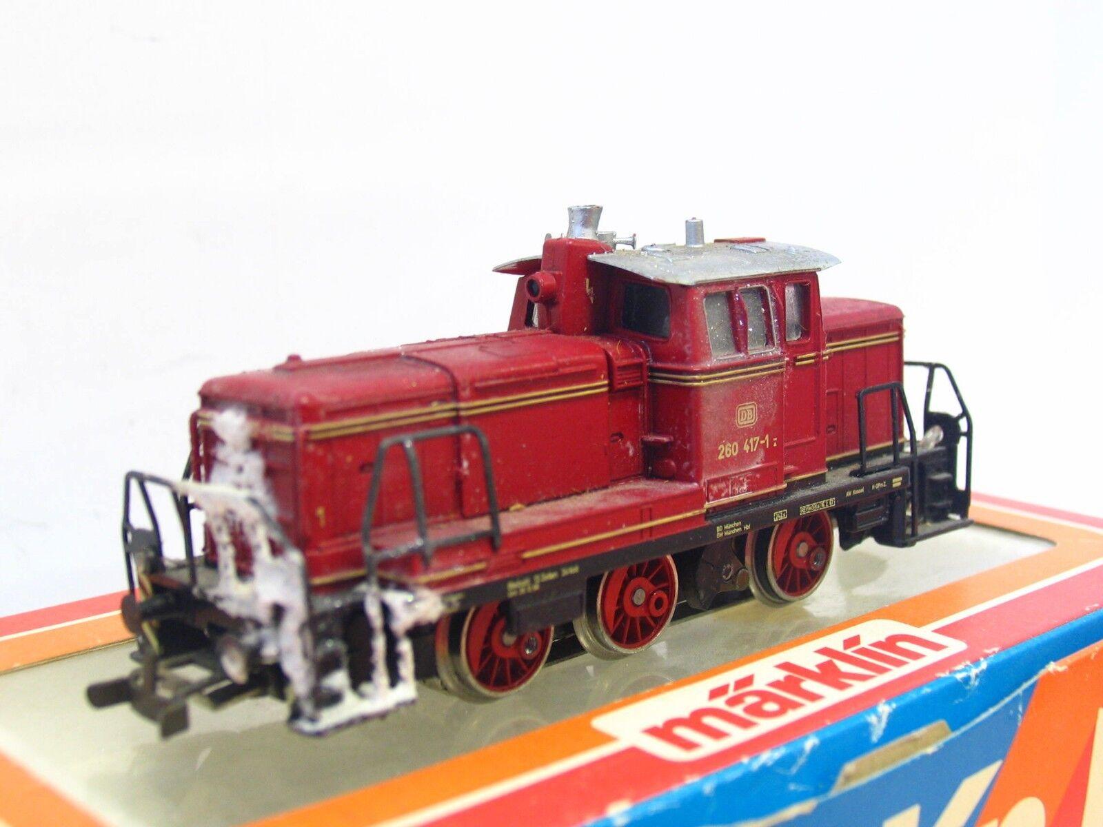 Märklin H0 3065 Diesellok BR BR BR 260 417-1 DB OVP (RB2148)    Wir haben von unseren Kunden Lob erhalten.  f8c945