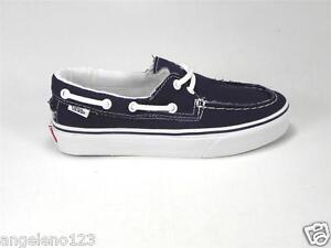 Shoes Canvas True Zapato Del Sneakers Navy Men White Barco Vans qaRY6nU6