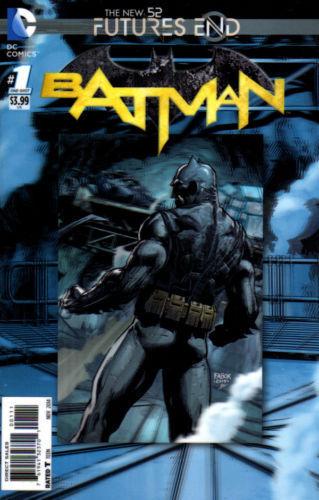 2D COVER BATMAN FUTURES END  #1   NM