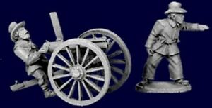 Artizan-Wild-West-US-Plains-Infantry-Gatling-Gun-AWW104-28mm-Unpainted