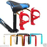 Bicycle MTB Bike Seat Post Back Double Water Bottle Holder Cage Rack Adapter New