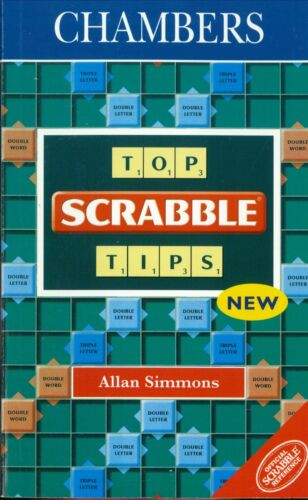 1 of 1 - Chambers Top Scrabble Tips by Allan Simmons - Please See Photos