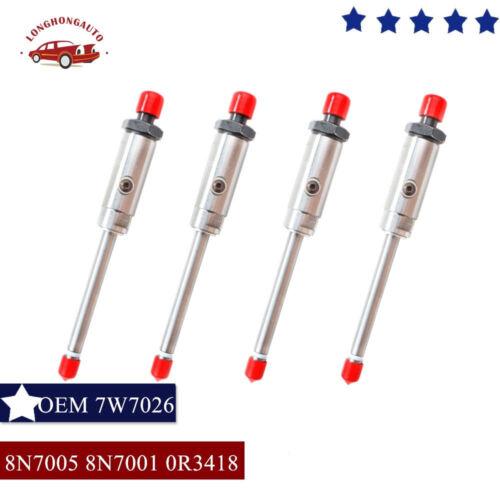 6X Diesel Pencil Fuel Injector Nozzles For Caterpillar Cat 3304 3306 8N7005 3418