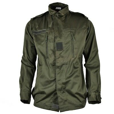Genuine French army F2 combat jacket military issue surplus olive NEW