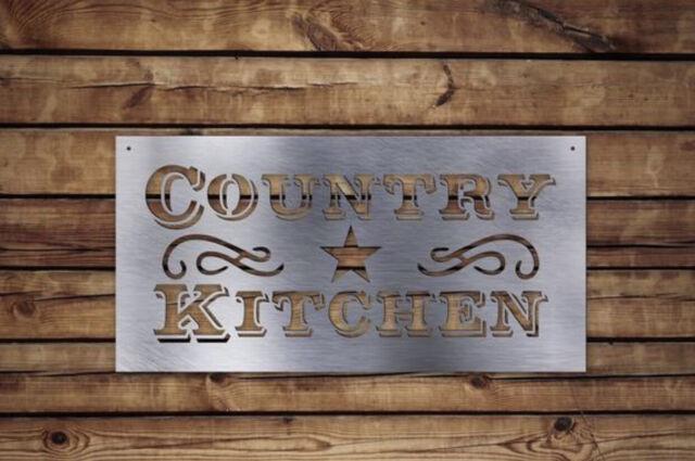 Country Kitchen Metal Sign Farmhouse Decor Kitchen Decor For Sale Online