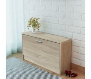 Miraculous Details About Long Low Shoe Cabinet Wooden Modern Storage Bench 5 6 Pairs Hall Porch In Oak Uwap Interior Chair Design Uwaporg