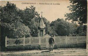 CPA CHAMPEAUX - N.-D. de Lourdes (149578)
