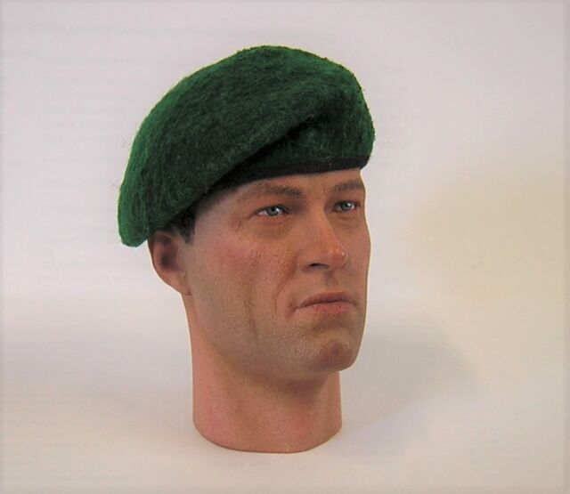 Banjoman 1:6 Scale Custom Made Beret Dark Green