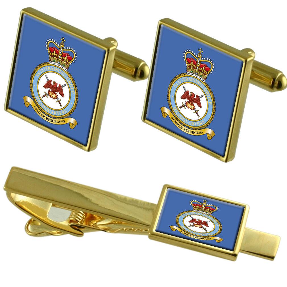 Royal Air Force 904 Exp Air Air Air Ali oro Gemelli Fermacravatta Set Coordinato 344571
