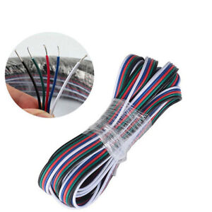 5-Pin-RGBW-Extension-Cable-LED-Strip-Light-5050-Adapter-Cord-Speaker-Wire-22-AWG