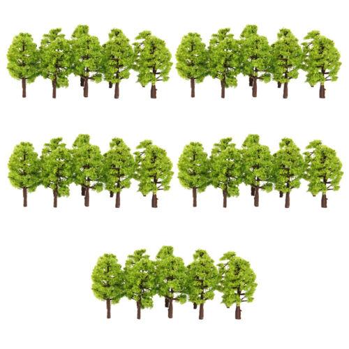 100 stücke Modell Bäume DIY Landschaft Zug Eisenbahn Landschaft 1 150