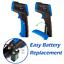 HOLDPEAK 981C Non-Contact Digital Laser Infrared Thermometer Temperature Gun ...