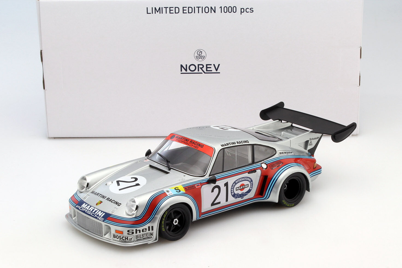 Porsche 911 Carrera Rsr 2.1 h Lemans 1974 Schurti Koinigg 1 18 Norev