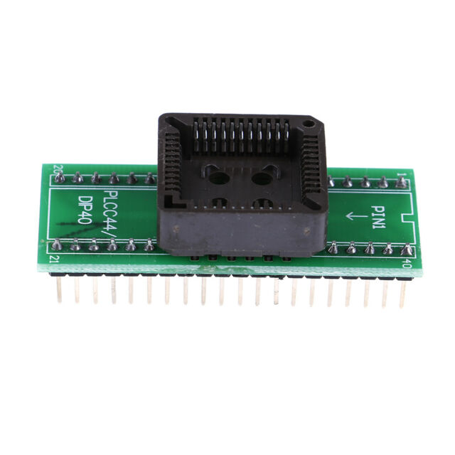 Plcc44 to dip40 usb universal programmer ic adapter tester socket In CANMCA MECA