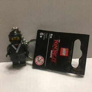 Ninjago Movie Nya Water Ninja Lego Minifigure Keychain