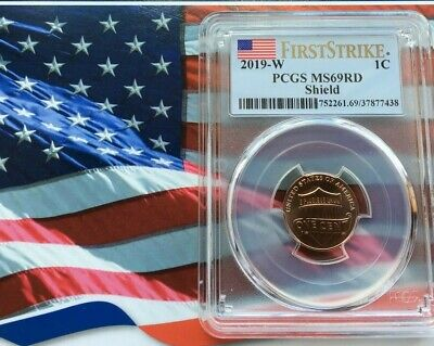 READY TO SHIP! 2019-W LINCOLN CENT PCGS MS69RD FIRST STRIKE
