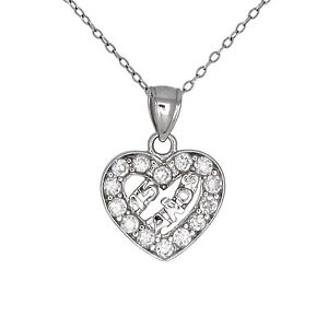 3f49185bcbc7 Sterling Silver Sweet 15 Anos Birthday Quinceanera Necklace Pendant ...