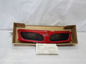 Mitsubishi-Carisma-Genuine-Front-Radiator-Grill-Grille-Red-1995-To-1999