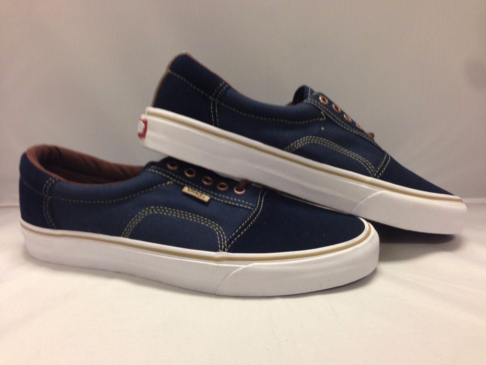 Vans Men's shoes Rowley ''Solos''--Dress bluee Brown