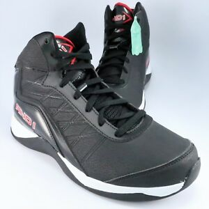 e5f8455fcf47 NEW - AND1 PLAYOFF High-Top Basketball Shoe Mens Size 8.5M Black ...