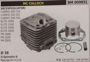 CILINDRO E PISTONE MC CULLOCH ELITE-PROMAC 4000